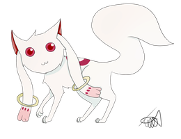 Kyubey by zencat61
