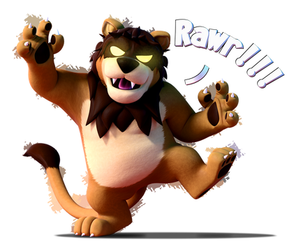Commission: RAWR!!! by SmashingRenders