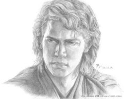 Hayden Christensen - Anakin Skywalker (Star Wars) by polinatur93