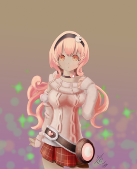 Hyperdimension Neptunia - Compa by Zer0Mechan1sm