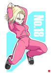 [ Dragon Ball Super ] Android 18 by chris-re5
