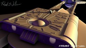 My Version Of Kronos 1 Study Model part 41 by XFozzboute