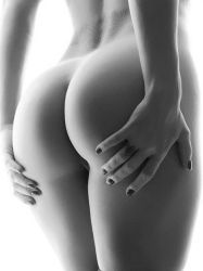 Ass in the world Perfect BW by Arts-Muse