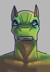 Disapproving Negaleg Animation by muffin-wrangler