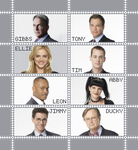 NCIS Stamp Sheet II by poserfan