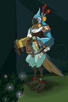 Zelda Breath of the Wild - Kass by Phant0m-Thief