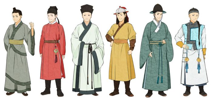 Men's Chinese Clothes by Glimja