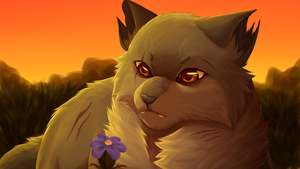 Yellowfang Painting by flash-the-artist