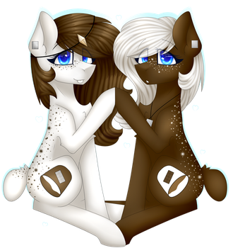 .:Chocolate Vanilla horses:. by KremciaKay