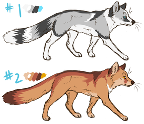 fox designs for sale - sold by thelunacy-fringe