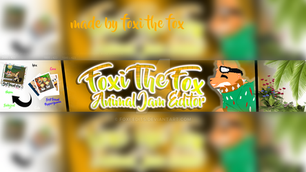Banner for me :) by Foxi-Edits