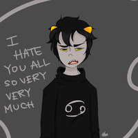Karkat hates everyone equally tho by dhbPATHWAY1997