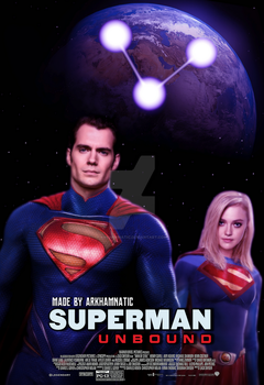 Superman Unbound movie poster by ArkhamNatic