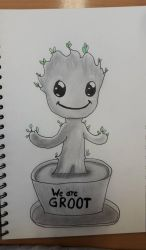 WE ARE GROOT! by SicaChii