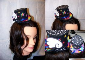 Winged Rainbow Stars Hat by ADreamersImagination