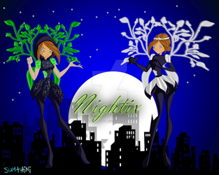 Flora Nightix+Moonightix by xXSumthiniXx