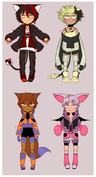 [ADOPTABLES] BallJointed Patterns [SET PRICE-OPEN] by Rinn-y