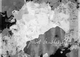 paint brushes set by PannaHerbatka