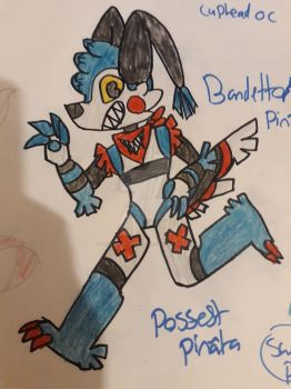 Detto the possessed pinata (CUPHEAD OC) by hollyleafxbirchstar