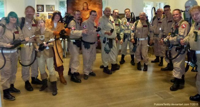 Ghostbusters United :-) by PotionsTeddy