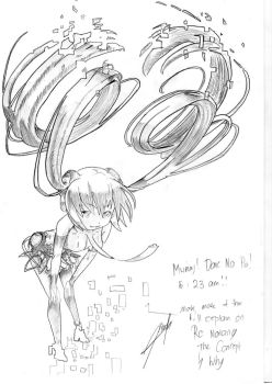 VOCAFUSION: MIKU HATSUNE SKETCH VERSION by SquishyCommishies