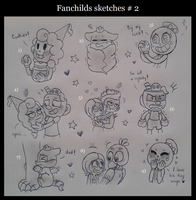 Fanchilds Sketches#2 by Nikytale