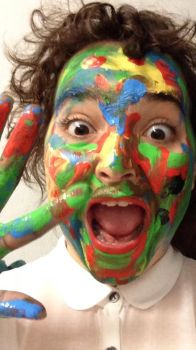 Painted Face by rebex1213
