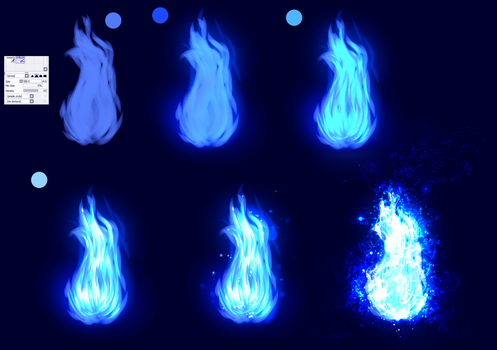 Blue Fire - EASY tutorial by ryky
