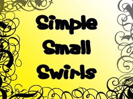 Simple Small Swirl Brushes by Lou012