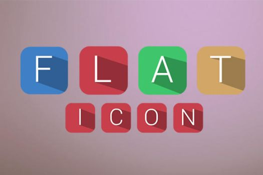 Flat 3D Icons Set by SkipSoft