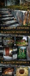 Places of Despair 6 - 12 Stock Backgrounds Pack by bonbonka