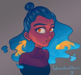 Draw this in your Style - Girl (by DestinyBlue) by Tabascofanatikerin