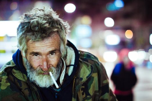 Photogenic Homeless by Xvant