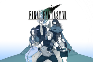 Final Fantasy VII by sheepsgobaaa