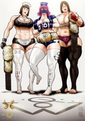 Queens of Wrestling by saikyoDRAGON