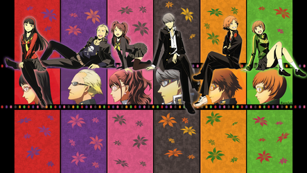Persona 4 (11) by AuraIan