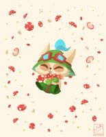 Teemo by inkinesss