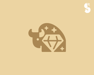 Bison-Logo by whitefoxdesigns