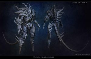 Ahriman final sculpting by FirstKeeper