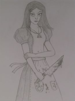 Alice From Madness Returns by killero94