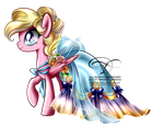 Commission - Gala Gown for Bay Breeze by tiffanymarsou