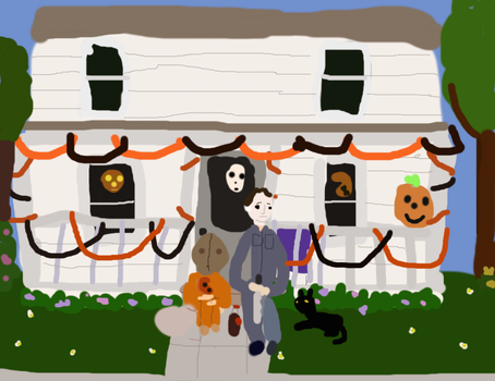 Waiting for Halloween to come by freacls