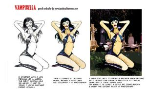 Vampirella... by jacobsteel