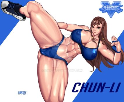 Chun-li from Street Fighter by 5Angle