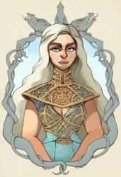 Mother of Dragons by Buuya