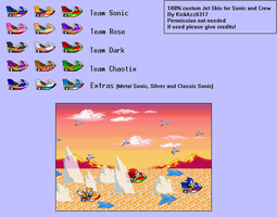 Sonic Advance Style Jet-Skis by KickAzzGaming