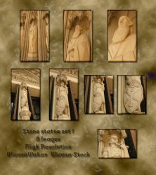 Stone statues 1 by Wicasa-stock