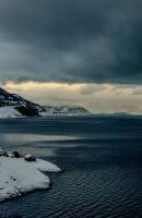 Glimpse of ligth in the fjords of Alta norway by Aliz1