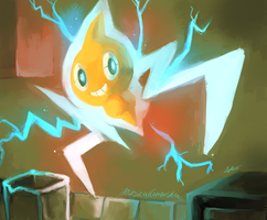DAY FOUR - Favorite Electric Type by MusicalCombusken