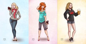 Character Commissions by star-anise